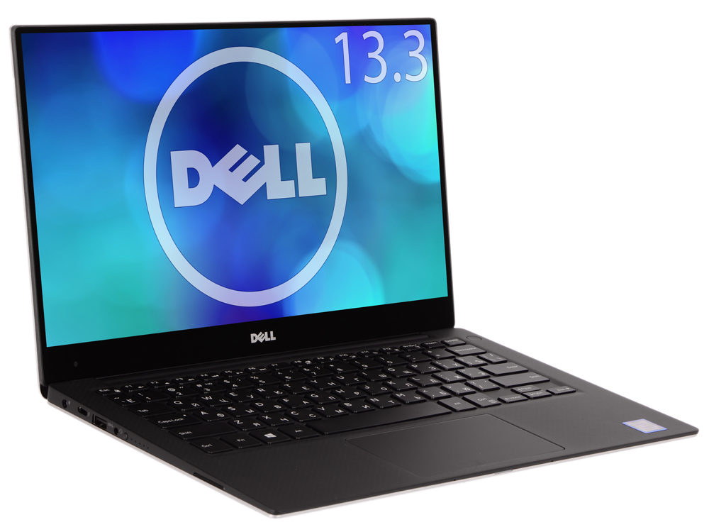 Ноутбук Dell XPS 13 (9360-5563) i7-8550U (1.8)/16GB/512GB SSD/13.3 QHD+ (3200x1800) IPS Touch/Intel UHD 620/Backlit/DVD нет/BT/Win10 Silver free shipping 13 3 for dell xps 13 9350 assembly qhd lcd screen wih touch digitizer 3200 1800