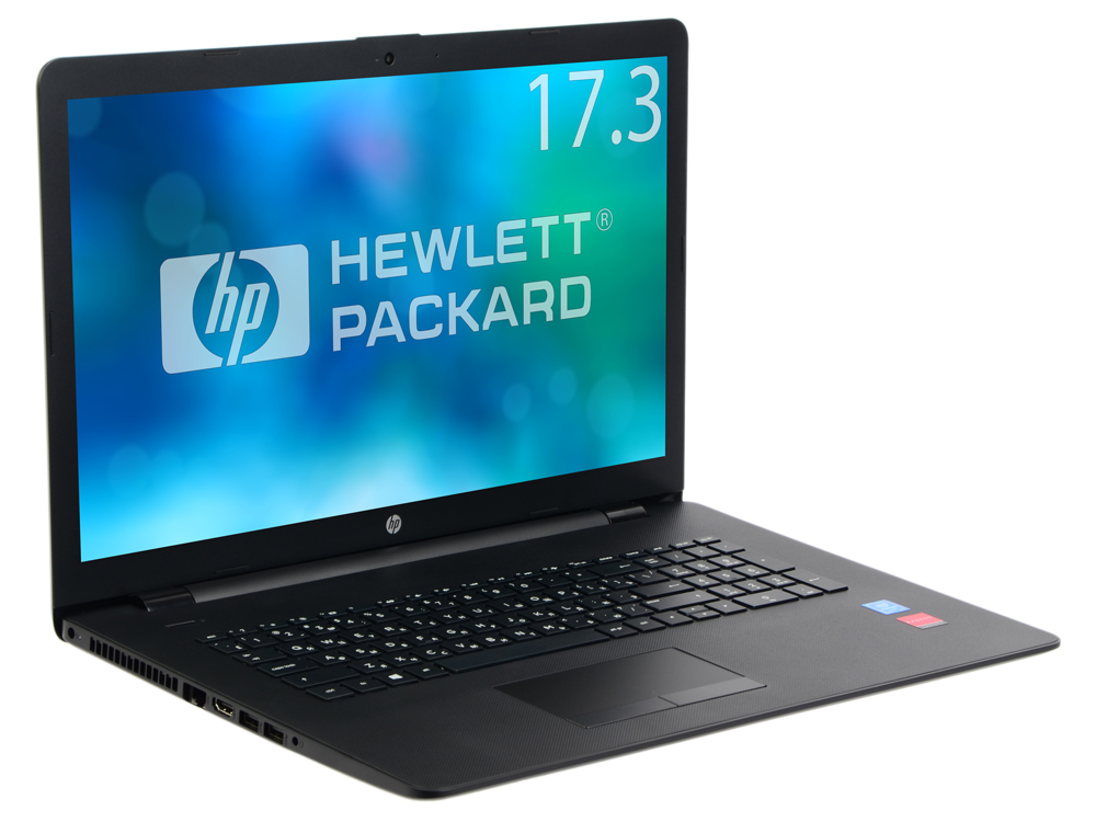 Ноутбук HP 17-bs018ur (2CP71EA) Pentium N3710 (1.6)/4Gb/1TB/17.3 HD+/AMD 520 2Gb/DVD-RW/Win 10 (Black) hp 17 bs018ur [2cp71ea] jet black 17 3 hd pen n3710 4gb 1tb dvdrw amd520 2gb w10