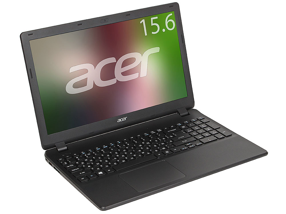Ноутбук Acer Extensa EX2519-C9HZ (NX.EFAER.075) Celeron-N3060 (1.6)/4GB/1TB/15.6 1366x768 AG/Int:Intel HD 400/DVD нет/BT/Linux Black
