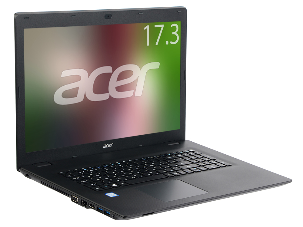Ноутбук Acer TravelMate TMP278-M-377H (NX.VBPER.013) i3-6006U (2.0)/4GB/1TB/17.3 1600x900/Intel HD 520/WiFi/BT/DVD-SM/Cam/Linux Black гигиена полости рта colgate зубная щетка optic white средней жесткости