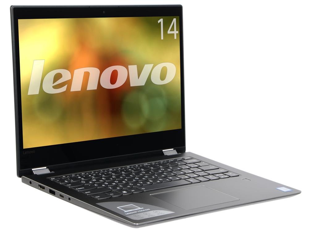"Ноутбук Lenovo Yoga 520-14IKB (80X800HDRK) i5-7200U (2.5) / 8Gb / 128Gb SSD / 14.0"" FHD IPS Touch / HD Graphics 620 / Win10 / Black"