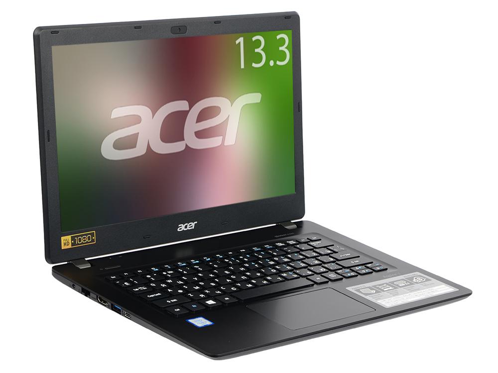Ноутбук Acer Aspire V3-372-590J (NX.G7BER.013) i5-6200U/4GB/128GB SSD/NoODD/13.3 FHD IPS/Intel HD 520/WiFi+BT/Win 10 Home/Black acer aspire v3 372 black v3 372 76hx