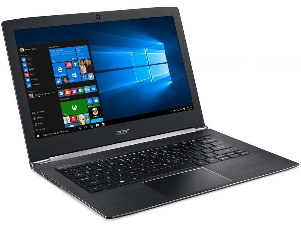 Ноутбук Acer Aspire S5-371-59PM (NX.GCHER.011) i5-6200U/4GB/128GB SSD/NoODD/13.3 FHD IPS/Intel HD 520/WiFi+BT/Win 10 Home/Black ноутбук acer aspire s5 371 59pm nx gcher 011