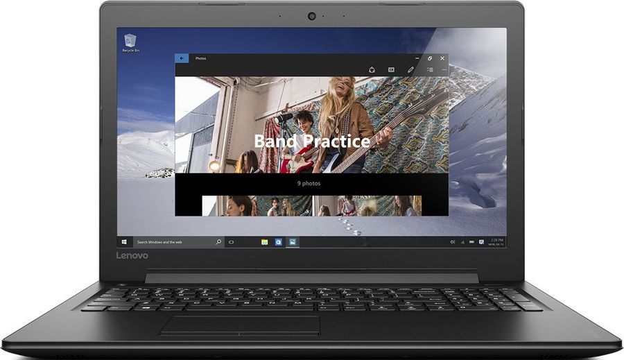 Ноутбук Lenovo IdeaPad 310-15IKB (80TV02DXRK) i7-7500U(2700)/4GB/500GB/15.6HD/Intel HD 620/Wi-fi/BT/Win 10 Home/Black купить