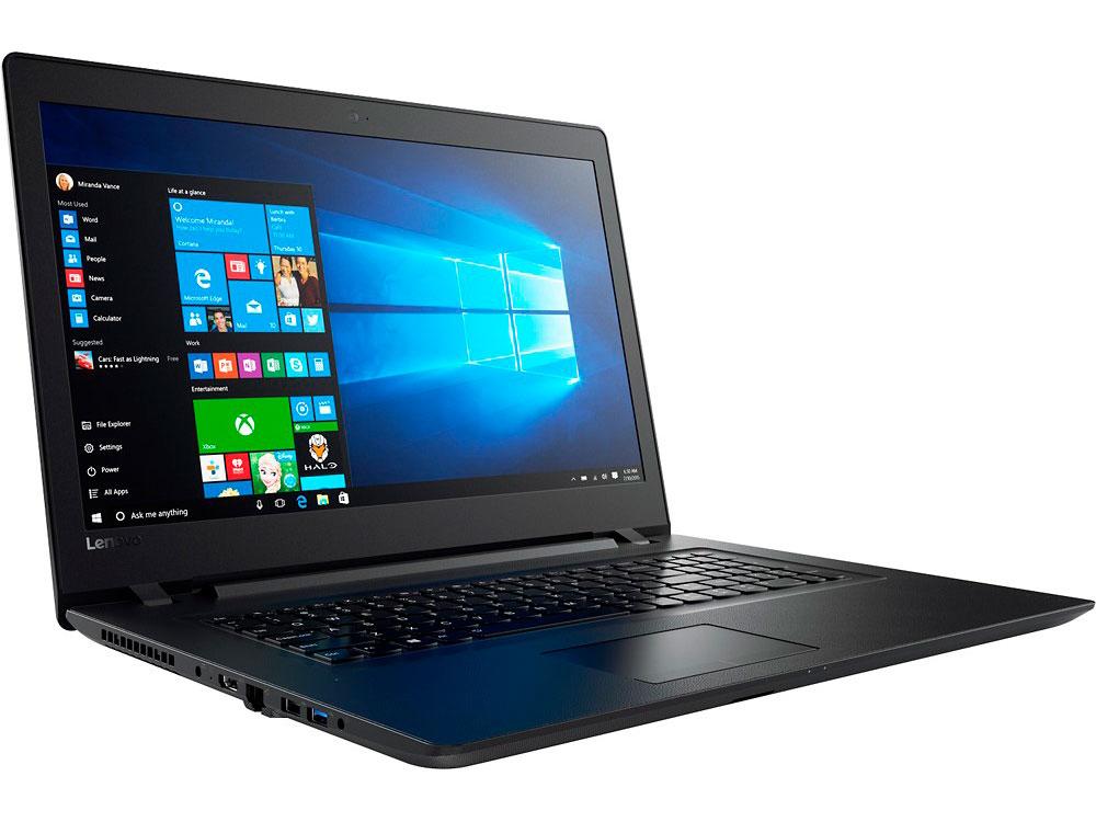 Ноутбук Lenovo IdeaPad 110-17IKB (80VK005PRK) i7-7500U(2.7)/8GB/1TB/17.3 1600x900/AMD Radeon R5 M430 2GB/Wi-fi/BT/DOS Black lenovo lenovo ideapad 110 15 6 amd e series 4гб ram wi fi sata bluetooth нет