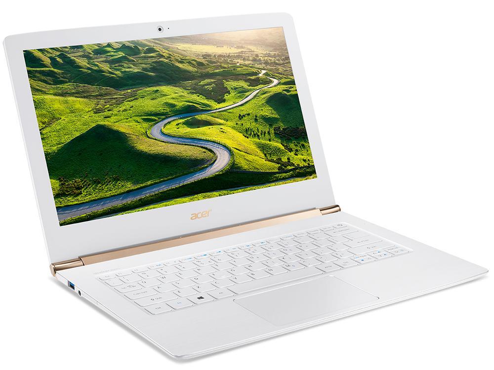 Ноутбук Acer Aspire S5-371-356Y (NX.GCJER.009) i3-6100U(2.3)/4GB/128GB SSD/13.3FHD/Intel HD 520/Wi-fi/BT/Win 10 Home/White ноутбук acer aspire s5 371 59pm nx gcher 011