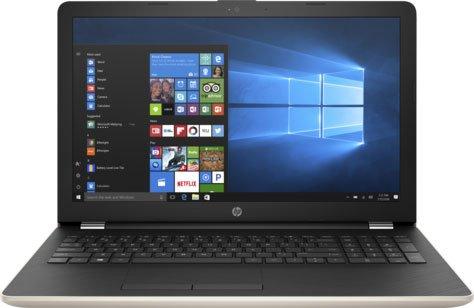 Ноутбук HP15-bw041ur (2BT61EA#ACB) AMD A6 9220(2.5)/4Gb/1Tb/15.6(1920x1080)/DVDrw/Radeon 520 2GB/BT/WiFi/Win 10/Silk Gold asus x550ze amd fx 7200p 2400mhz 6gb 15 6 1tb dvdrw amd r5 m230 2g bt w8 grey