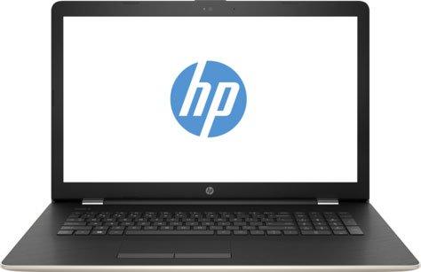 Ноутбук HP17-bs021ur (2CP74EA#ACB) Pentium N3710(1.6)/4Gb/1Tb/17.3(1600x900)/DVDrw/Radeon 520 2GB/BT/WiFi/Win 10/Silk Gold ноутбук asus x751sj ty017t pentium n3700 1 6ghz 17 3 4gb 500gb dvdrw gt920m 1gb w10 black 90nb07s1 m00860