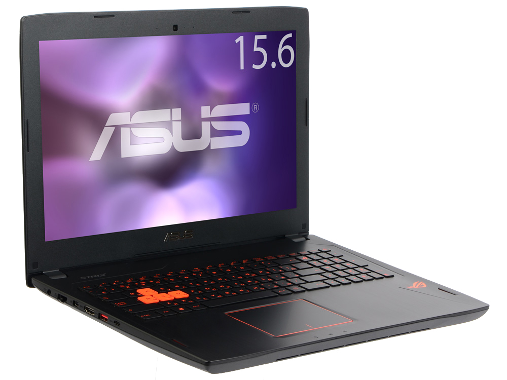 Ноутбук ASUS ROG GL502VM-FY043T (90NB0DR1-M03610) i5 6300HQ(2.3)/8Gb/1Tb/15.6/nVidia GeForce GTX1060 6Gb/BT/WiFi/W10 видеокарта asus geforce gtx 1060 1620mhz pci e 3 0 6144mb 8208mhz 192 bit dvi hdmi hdcp rog strix gtx1060 o6g gaming