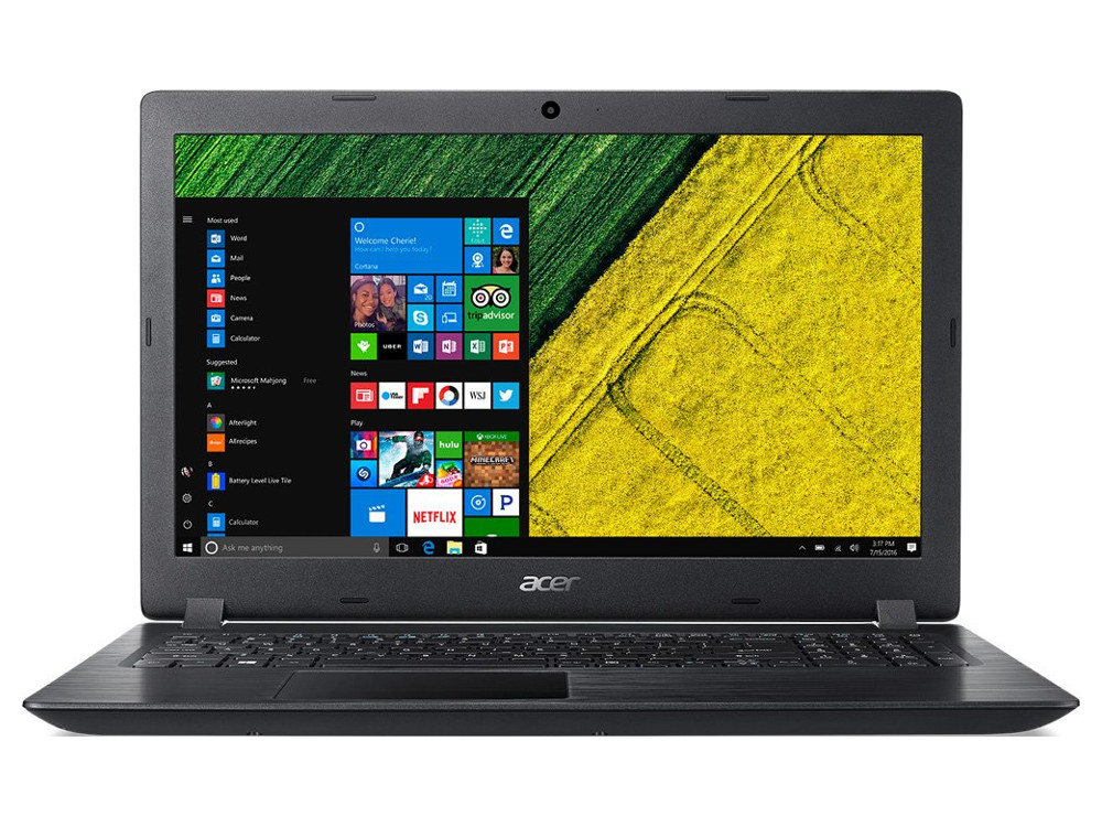 Ноутбук Acer Aspire A315-31-P42N Pentium N4200 (1.1)/4GB/500GB/15.6 FHD AG/Int: Intel HD 505/noODD/BT/Win10 Black ноутбуки acer aspire f5 571g p8pj intel pentium 3556u 1700 mhz 15 6