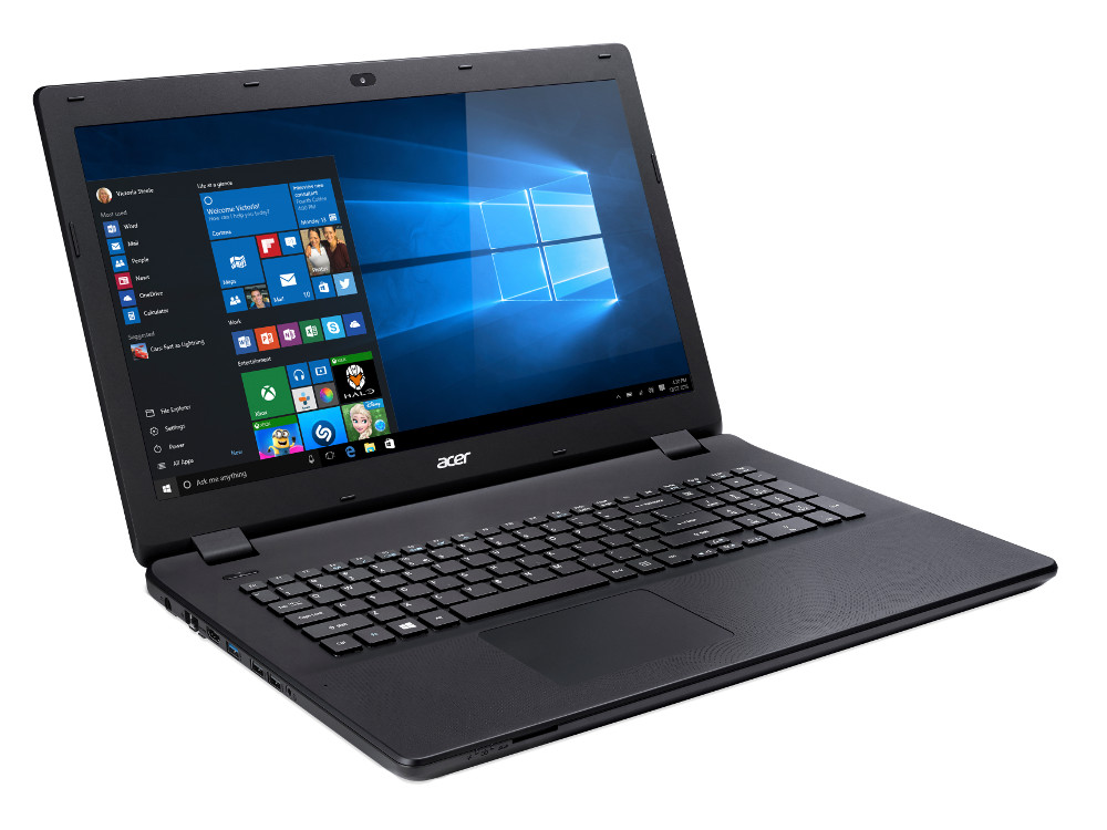 Ноутбук Acer Aspire ES1-732-P01M (NX.GH4ER.021) Pentium-N4200 (1.1)/6GB/500GB/17.3 HD+/Int: Intel HD 505/noDVD/BT/Win10 Black ноутбуки acer aspire f5 571g p8pj intel pentium 3556u 1700 mhz 15 6