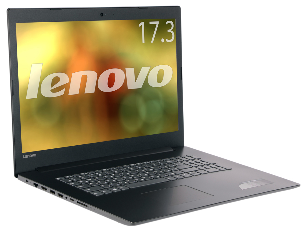 Ноутбук Lenovo IdeaPad 320-17IKBR (81BJ003LRU) i7-8550U (1.8)/8GB/1TB/17.3 1600x900 IPS/NV Mx150 4GB/DVD-SM/BT/Win10 Black ноутбук lenovo ideapad 100 15ibd i3 5005u 2 0 4gb 500gb 15 6hd gl nv 920m 1gb dvd sm win10 80qq0010rk black