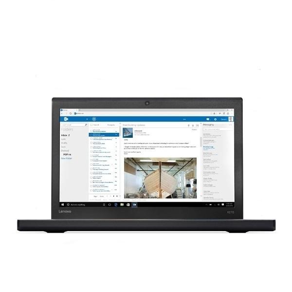 Ноутбук Lenovo ThinkPad X270 (20HN0068RT) i3-7100U (2.4) / 4Gb / 500Gb / 12.5 HD TN / HD Graphics 620 / DOS / Black for lenovo imb thinkpad t61 laptop motherboard mainboard fru 42w7652 15 4 with non integrated graphics card 100