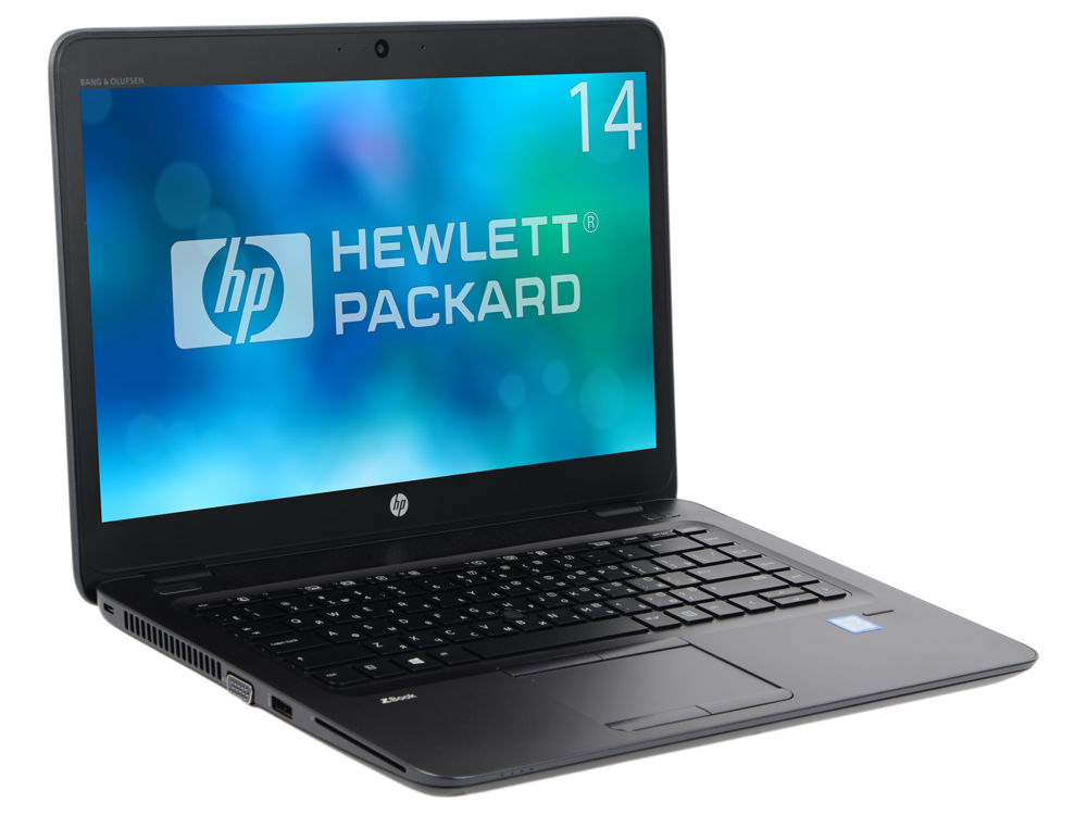 Ноутбук HP ZBook 14U G4 (1RQ69EA) i7-7500U (2.7)/16G/256G SSD/14 FHD AG/AMD FirePro W4190M 2G)/noODD/BTl/Win10Pro Black, Meta