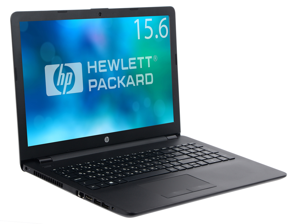 Ноутбук HP 15-ra106ur (3XY57EA) i3-5005U (2.0)/4GB/500GB/15.6 1366x768 AG/Int:Intel HD/DVD нет/Cam/Win10 (Jack Black) ноутбук lenovo ideapad 100 15ibd i3 5005u 2 0 4gb 500gb 15 6hd gl nv 920m 1gb dvd sm win10 80qq0010rk black