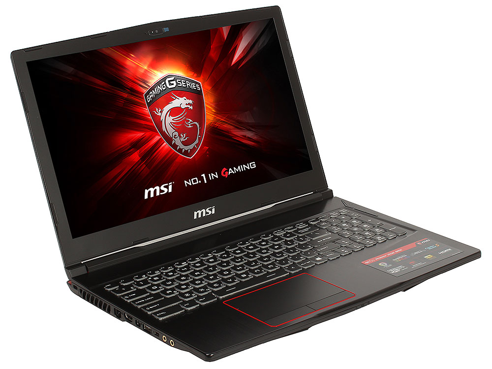 Ноутбук MSI GE63 Raider RGB 8RF-209XRU i7-8750H (2.2)/16G/1T+128G SSD/15.6FHD AG 120Hz/NV GTX1070 8G/noODD/BT/DOS Black laptop keyboard for msi gs70 gs60 gt72 gt62 black without frame