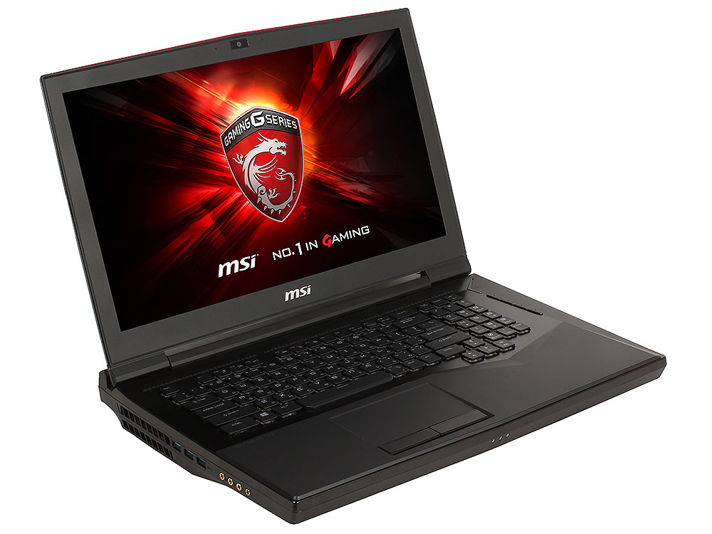 Ноутбук MSI GT75 Titan 8RG-053RU i7-8750H (2.)/16GB/1TB+256GB SSD/17. FHD AG 120Hz/NV GTX1080 8GB/noODD/BT/Win10 (Black)