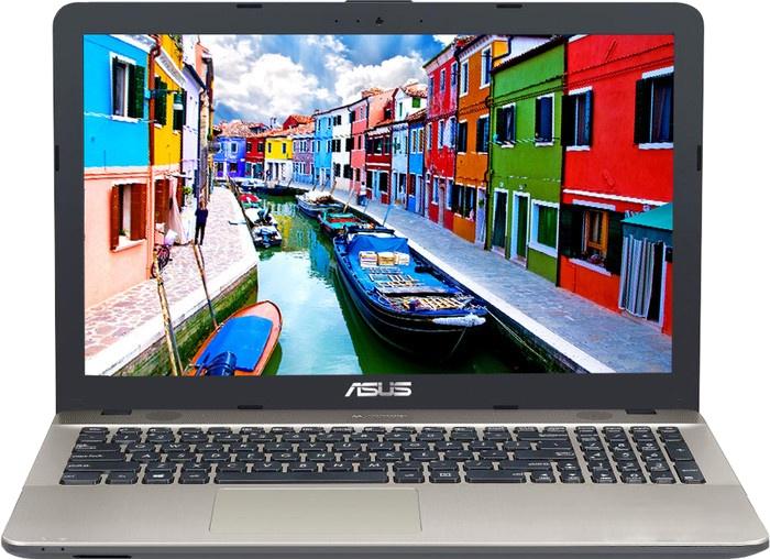 Ноутбук Asus D541NA-GQ316 (90NB0E81-M05920) Celeron N3350 (1.1) / 4Gb / 500Gb / 15.6 HD TN / HD Graphics 500 / DOS / Black ноутбук acer extensa ex2519 p79w pentium n3710 4gb 500gb dvd rw intel hd graphics 405 15 6 hd 1366x768 linux black wifi bt cam 3500mah