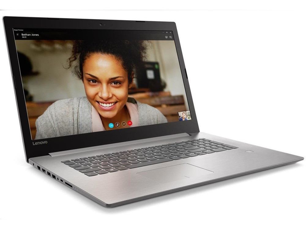 Ноутбук Lenovo IdeaPad 320-17IKB (80XM00J5RU) Pentium 4415U (2.3)/4GB/500GB/17.3 HD+/Int: Intel HD 610/noODD/DOS (Grey) ноутбук lenovo ideapad 320 17ikb 17 3 intel pentium 4415u 2 3ггц 8гб 1000гб nvidia geforce 920mx 2048 мб windows 10 80xm00gprk черный