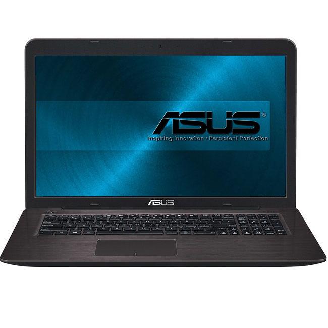 Ноутбук Asus X756UQ-T4453T (90NB0C31-M05450) i3-7100 (2.4) / 6Gb / 1Tb / 17.3 FHD TN / GeForce GT940MX 2Gb/ Win10 Home / Dark Brown ноутбук asus x756ua ty013t core i3 6100u 6gb 1tb 17 3 dvd win10 black