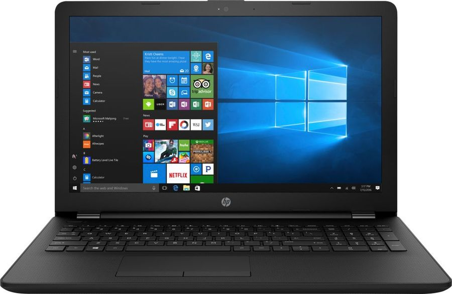 Ноутбук HP 15-ra055ur (3QT88EA) Celeron N3060 (1.6) / 4Gb / 500Gb / 15.6 HD SVA / HD Graphics 400 / Win10 Home / Jack Black sva liquid crystal lt3232 main board 5800 a8m61a m010 screen lc320wxn