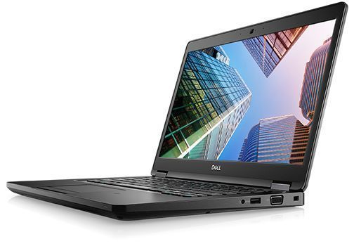 Ноутбук Dell Latitude 5490 (5490-2714) i5-8250U(1.6) / 8Gb / 256Gb SSD / 14 FHD IPS / GeForce MX130 2Gb / Win10 Pro / Black ноутбук dell latitude e7270 core i7 6600u 8gb 512gb ssd 12 5 fhd ips led cam intel hd graphics 520 wifi win7 pro win10 pro