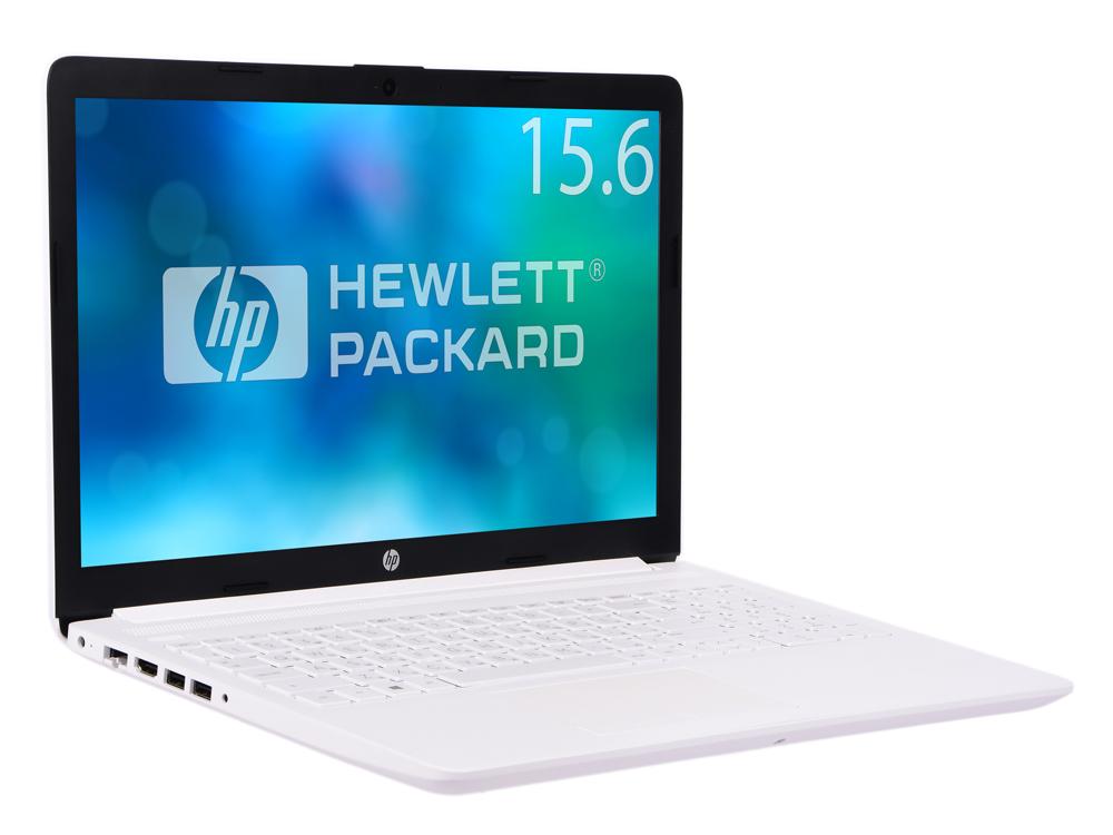 Ноутбук HP 15-da0189ur  i3-7020U (2.3)/4Gb/1Tb+16Gb Optane/15.6FHD AG/Int Intel HD/No ODD/Cam HD/DOS (Snow White)