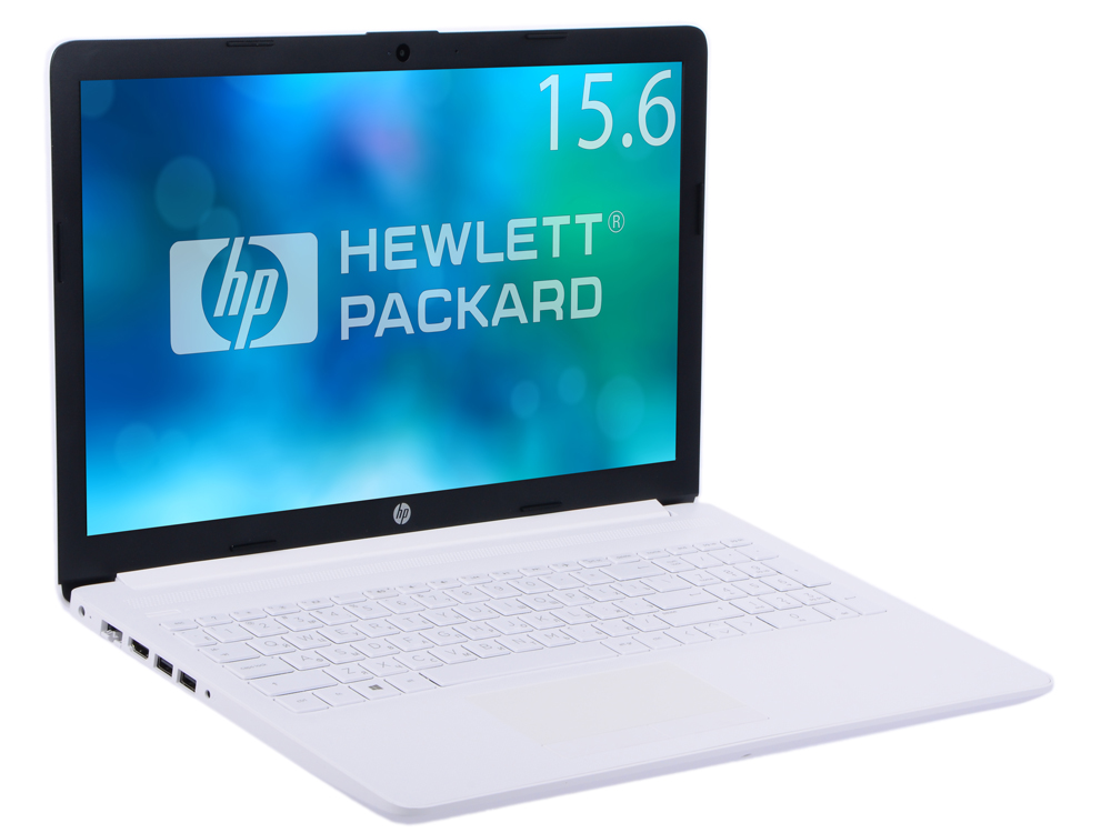Ноутбук HP 15-db0171ur  Ryzen 5-2500U (2.0)/4Gb/1Tb/15.6FHD AG/Int AMD Radeon Vega 8/No ODD/Cam HD/Win10 (Snow White)
