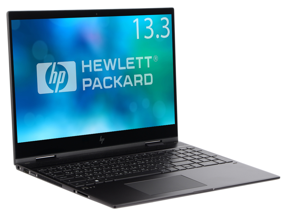 Ноутбук HP Envy x360 13-ag0003ur (4GQ80EA) Ryzen 5-2500U (2.0) / 8GB / 256GB SSD / 13.3 FHD IPS Touch + Privacy Screen / Int: AMD Vega 8 / Cam IR HD / Win10 (Dark Ash) - Transformer 10 8 lcd display touch screen panel glass digitizer assembly replacement for dell venue 11 pro 7140 t07g002 frame bezel fhd