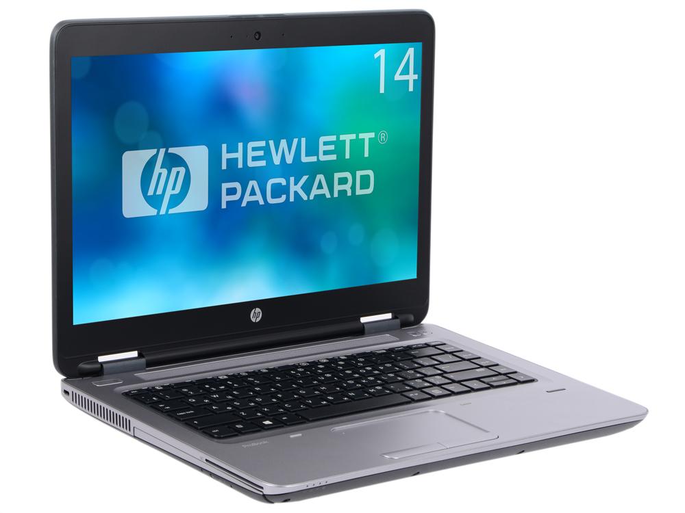 Ноутбук HP ProBook 640 G2 (T9X05EA) i5-6200U (2.3) / 4GB / 128G SSD / 14 FHD / Int: Intel HD 520 / DVD-SM / FP / 3G / Win7Pro + Win10Pro (Black/Silver) ноутбук hp probook 640 g2 i5 6200u 8gb ssd256gb dvdrw 14 fhd w7pro64 w10pro wifi bt cam [t9x07ea]