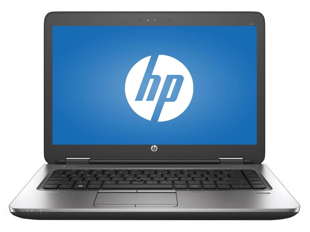 Ноутбук HP ProBook 645 G3 (Z2W18EA) AMD A8-9600B (2.4) / 8GB / 256GB SSD / 14 FHD / Int: AMD Radeon R6 / DVD-SM / Win10Pro (Black/Silver) ноутбук hp probook 645 g3 z2w18ea amd a8 9600b 2 4 ghz 8192mb 256gb ssd dvd rw amd radeon r5 wi fi bluetooth 14 1920x1080 windows 10 64 bit