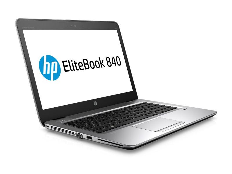 Ноутбук HP EliteBook 840 G3 (T9X24EA) i7-6500U (2.5) / 8GB / 256GB SSD / 14 QHD / Int:Intel HD 520 / noODD / W7Pro + Win10Pro (Silver/Black) ноутбук hp zbook 15 g3 t7v53ea t7v53ea