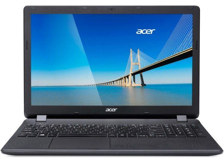 Ноутбук Acer Extensa EX2519-P56L (NX.EFAER.091) Pentium N3710 (1.6)/4G/128G SSD/15.6''HD AG/GMA HD/noODD/BT/Linux BLACK ноутбук acer aspire e5 575g 5128 nx gdwer 091 nx gdwer 091