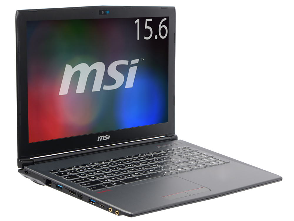 Ноутбук MSI GF62 8RE-044XRU i7-8750H (2.2)/8GB/1TB/15.6 1920x1080 AG/NV GTX1060 6GB/DVD нет/BT/DOS Black laptop keyboard for msi gs70 gs60 gt72 gt62 black without frame