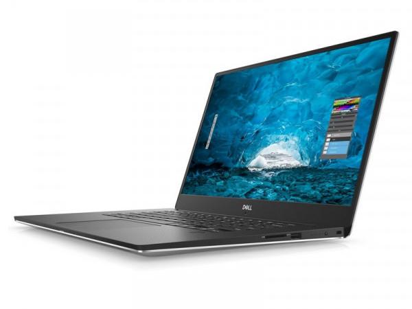 Ноутбук Dell XPS 15 (9570-1080) i7-8750H (2.2) / 16GB / 512GB SSD / 15.6 FHD IPS AG / NV GTX 1050Ti 4GB / noODD / Win10 Pro (Silver) ноутбук dell alienware 15 r3 core i7 7700hq 16gb 1tb 512gb ssd nv gtx 1070 8gb 15 6 fullhd win10 silver