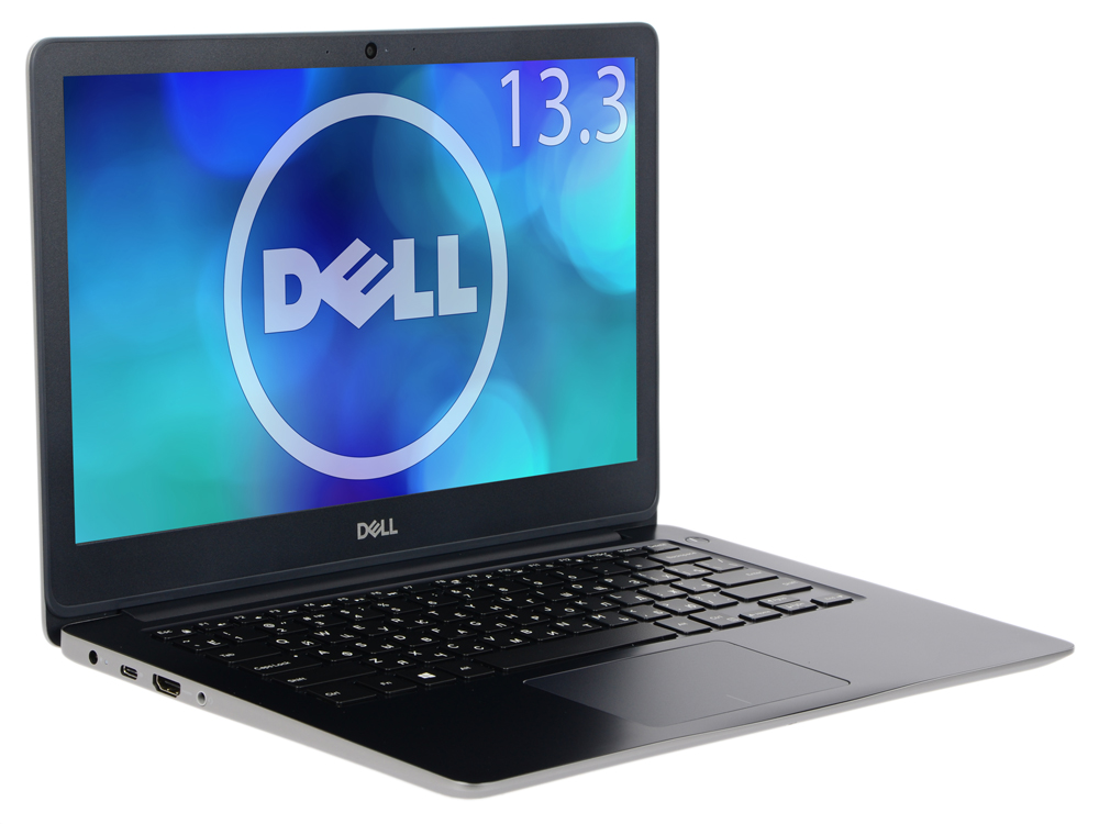 Ноутбук Dell Vostro 5370 (5370-7536) i5-8250U (1.6)/8G/256G SSD/13.3FHD/AMD Radeon 530 2G/noDVD/BT/Win10Pro/grey 10 8 lcd display touch screen panel glass digitizer assembly replacement for dell venue 11 pro 7140 t07g002 frame bezel fhd