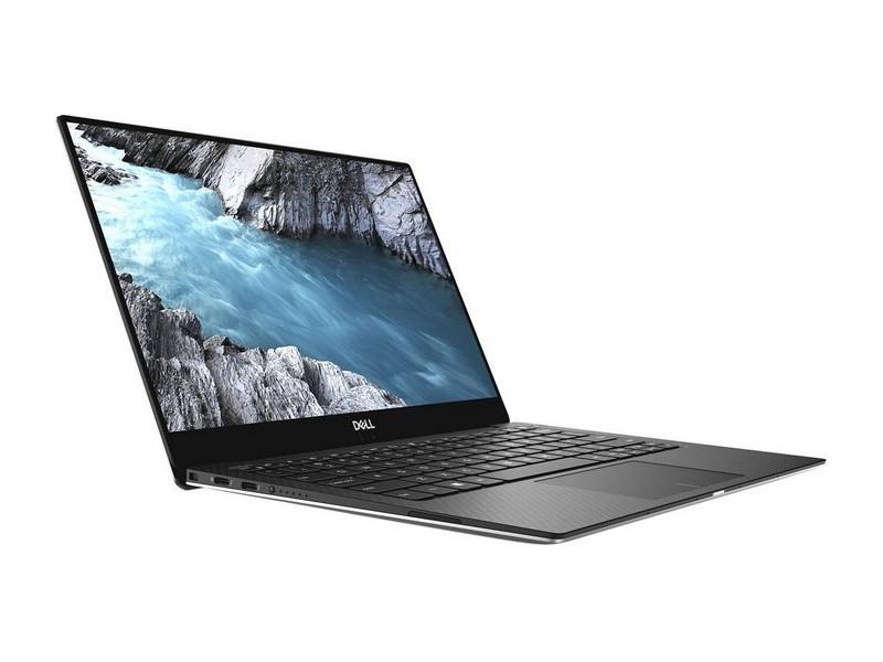 Ноутбук Dell XPS 13 (9370) (9370-1726) i7-8550U (1.8) / 16GB / 512GB SSD / 13.3 UHD Touch / Int: Intel UHD 620 / noODD / Win10 Pro (Silver) моноблок dell xps 7760 27 uhd touch core i7 7700 16gb 2tb 32gb ssd amd rx 570 8gb kb m win10 silver