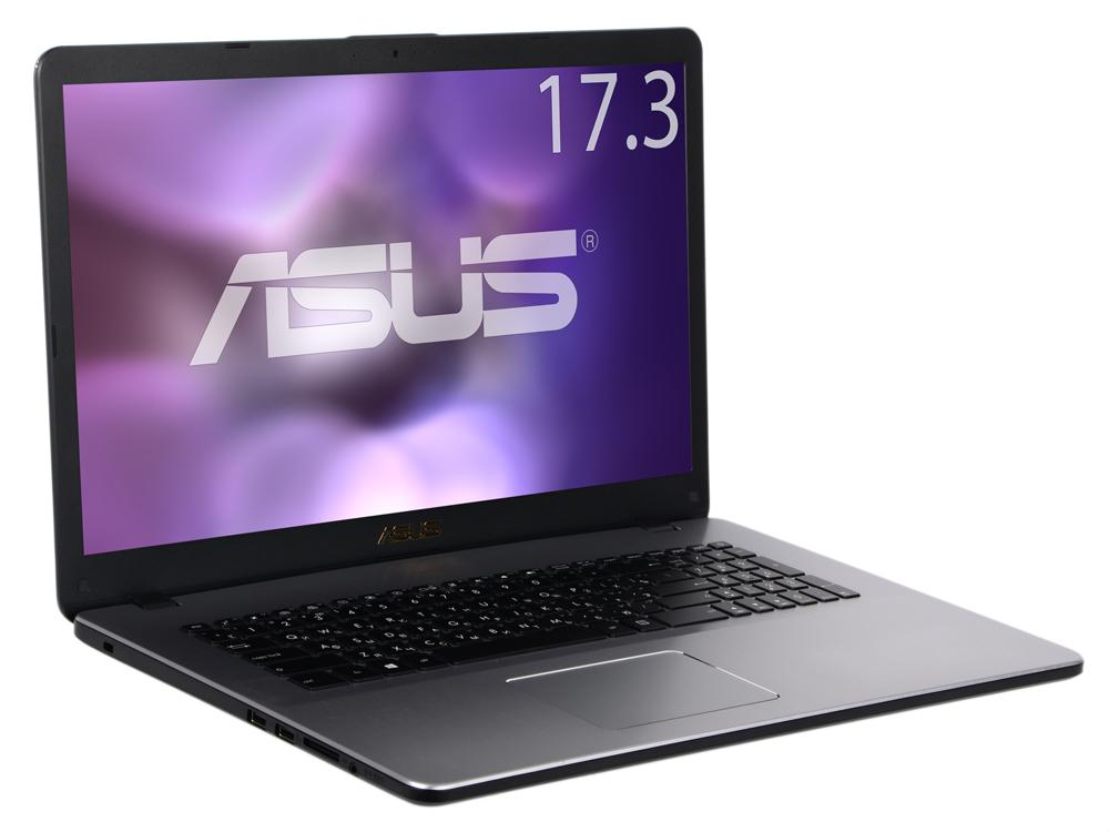 Ноутбук Asus N705UF-GC138T i3-7100U (2.4) / 6GB / 1TB / 17.3 FHD AG IPS / NV MX130 2GB/ noODD / Win10 (Star Grey, Metal) ноутбук asus n705uf gc138t 90nb0ie1 m01760