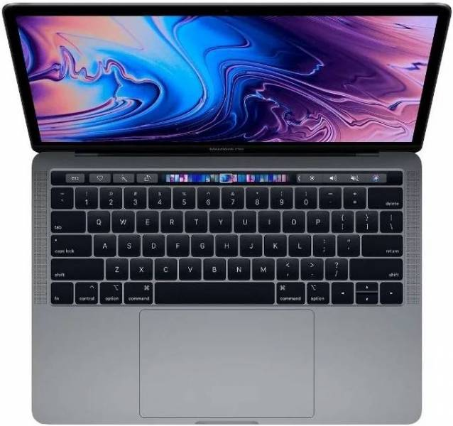 Ноутбук Apple MacBook Pro (MR9Q2RU/A) 13 Retina D-C IC i5 2.3GHz/Touch Bar/8GB/256GB SSD/Int Iris Plus 655/Space Grey