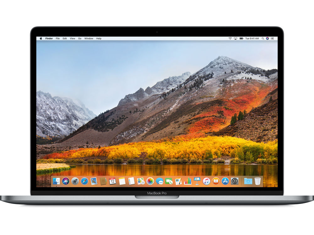 Ноутбук Apple MacBook Pro MR932RU/A i7-8750H (2.2) / 16Gb / 256Gb SSD / 15.4 WQHD IPS Retina / Radeon Pro 555X 4Gb / Touch Bar / Mac OS X / Space Grey