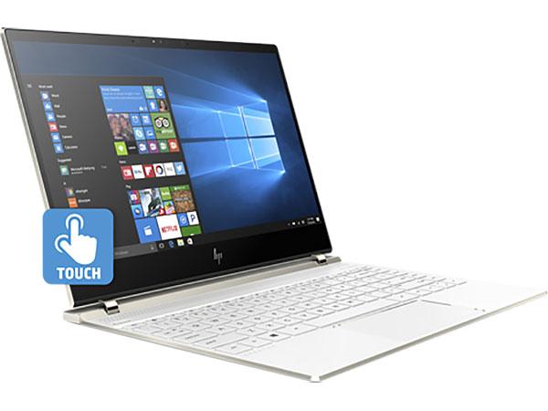 Ноутбук HP Spectre 13-af014ur  i7-8550U(1.8)/16Gb/1Tb SSD/13.3 UHD Touch/Int: Intel UHD 620/BT/FHD IR Cam/Win10 (Ceramic White) microsoft microsoft surface book комбинированный планшетный ноутбук 13 5 дюймов 16g памяти intel i7 1tb видеопамяти карты