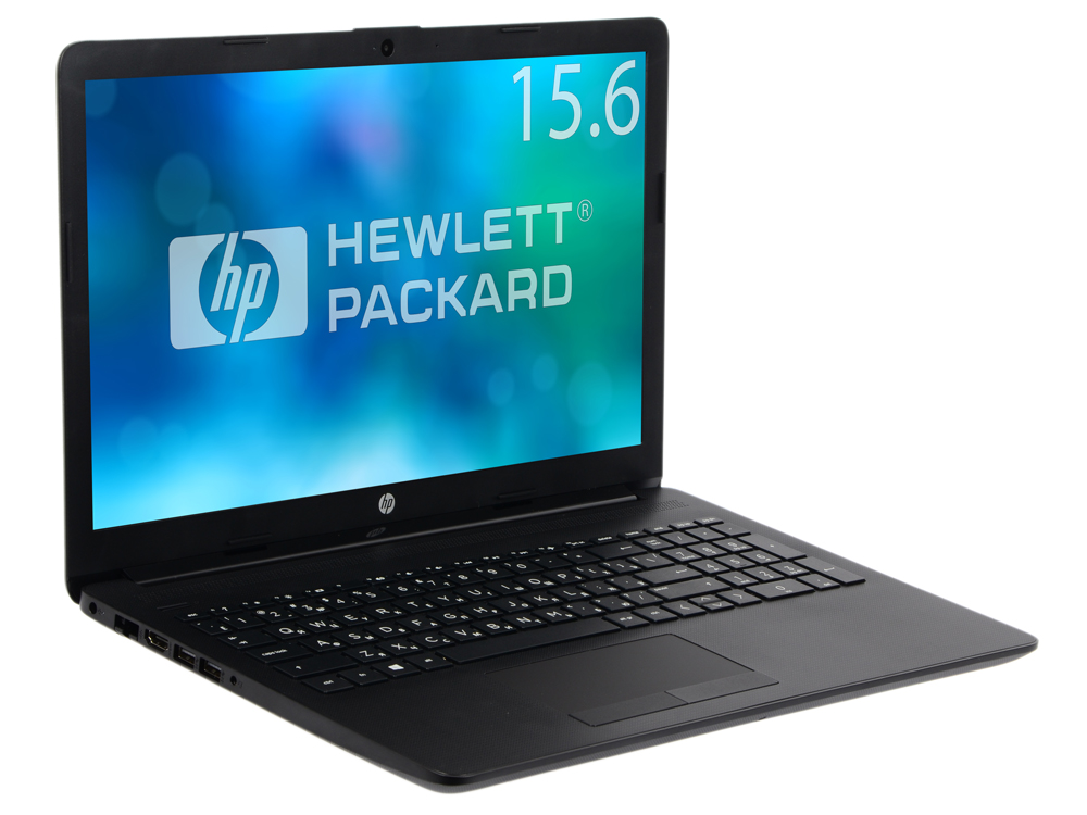 Ноутбук HP15-db0104ur (4JV86EA) AMD A6 9225(2.6)/4G/1T/15.6FHD/AMD Radeon 520 2G/noDVD/Win10 Jet Black ноутбук hp17 ca0041ur 4ju76ea amd a6 9225 4g 500g dvdrw 17 3hd radeon 530 2g win10 black