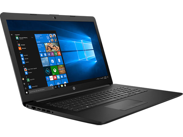 Ноутбук HP 17-by0046ur 4JW85EA Celeron N4000 (1.1) / 4Gb / 128Gb SSD / 17.3 HD+ / Int:Intel UHD 600 / DOS / Jet Black kingfast ssd 128gb sata iii 6gb s 2 5 inch solid state drive 7mm internal ssd 128 cache hard disk for laptop disktop