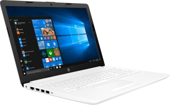 Ноутбук HP15-da0170ur (4MZ42EA) i5-8250U/4G/1T+16G/15.6FHD IPS/NV Mx110 2G/Win10 white