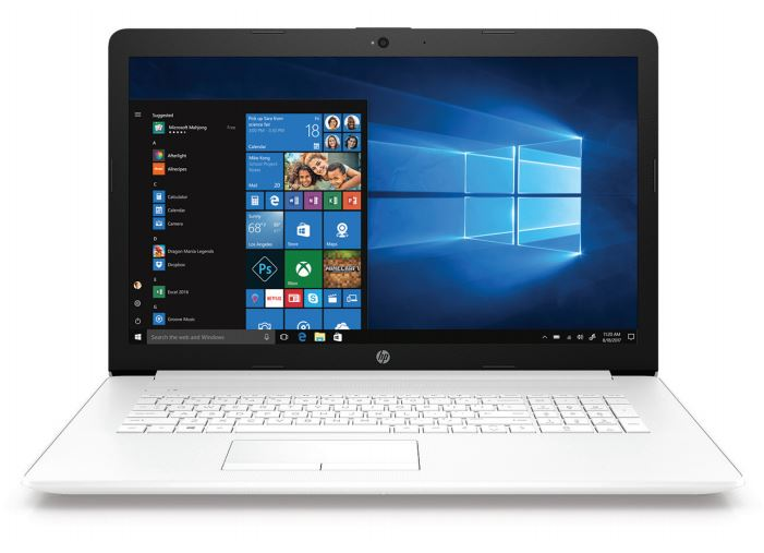 Ноутбук HP17-ca0042ur (4KG77EA) AMD A6 9225/4G/500G/DVDRW/17.3