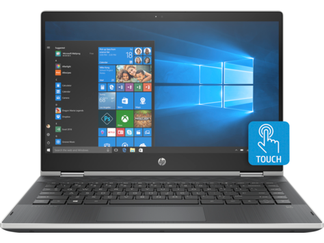 Ноутбук HP Pavilion x360 14-cd0018ur (4JV27EA) i5-8250U(1.6) / 4Gb / 256Gb SSD / 14 FHD IPS / GeForce MX130 2Gb / Win10 Home / Silver hp pavilion 14 bk004ur silver 2cv44ea