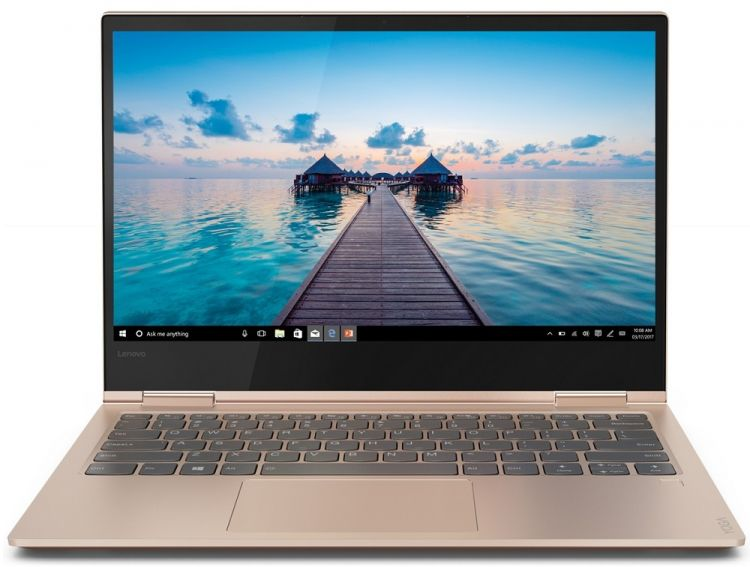 Ноутбук Lenovo Yoga 730?13IKB (81CT003QRU) i7?8550U (1.8) / 8GB / 256GB SSD / 13 FHD Touch / Int: Intel UHD 620 / noODD / Win10 (Copper) ноутбук трансформер lenovo yoga 720 13ikb 80x60056rk