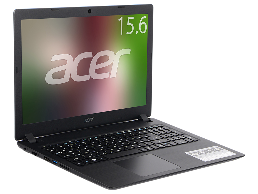 Ноутбук Acer Aspire A315-21-460G (NX.GNVER.035) AMD A4-9125 (2.3) / 4Gb / 128Gb SSD / 15.6 HD / AMD Radeon R3 / Linux / Black 11 6 lcd display touch screen digitizer assembly for acer aspire r11 r3 131t series r3 131t c3pv r3 131t c1z5 r3 131t c89a