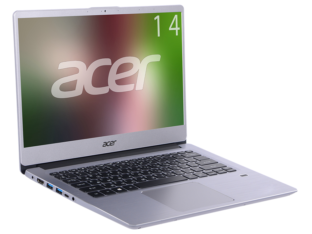 Ноутбук Acer Swift 3 SF314-54-87RS (NX.GXZER.005) i7-8550U (1.8) / 8GB / 256GB SSD / 14 FHD IPS / Int: Intel UHD 620 / Win10 (Silver) ноутбук lenovo yoga 730 13ikb 81ct0096ru i5 8250u 1 6 8gb 256gb ssd 13 fhd touch int intel uhd 620 win10 platinum