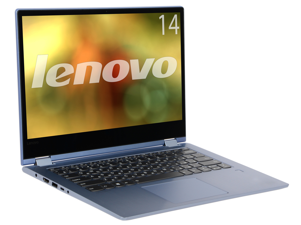 Ноутбук Lenovo Yoga 530-14IKB (81EK0099RU) i7-8550U (1.8) / 8GB / 256GB SSD / 14 FHD IPS Touch / Int: Intel UHD 620 / noODD / Win10 (Blue) ноутбук lenovo yoga 730 13ikb 81ct0096ru i5 8250u 1 6 8gb 256gb ssd 13 fhd touch int intel uhd 620 win10 platinum